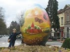 Easter eggs promote 'NAIVE art'