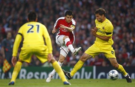 Arsenal beats villarreal 3 0 advances to semifinals - Villarreal fc league table ...