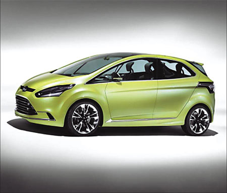 The Ford iosis MAX will make its first Asia-Pacific appearance in Shanghai. [China Daily]