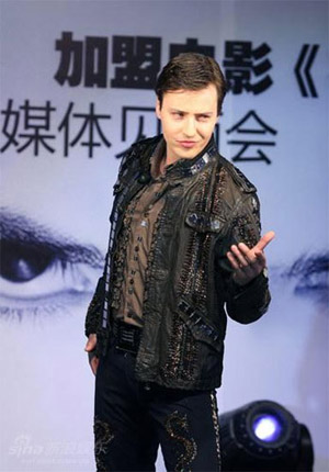 Russian pop sensation vitas to debut chinese ep
