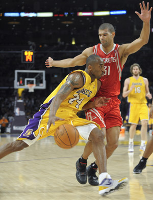 Lakers Upset Rockets To Tie Nba Playoffs Series China Org Cn