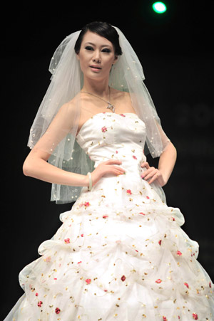 A Wedding Dress From China
