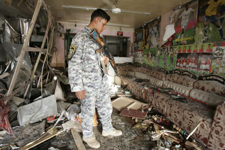 A series of bomb attacks since late Sunday have killed at least 20 people and wounded some 91 others, just days before the U.S. troops are to leave Iraqi cities and towns, raising fears that Iraqi security forces is not able to fight relentless insurgency.