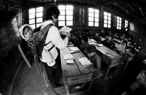 Xie Hailong's first photo of rural education [CPA]