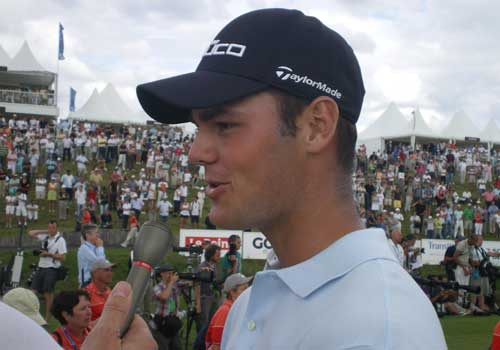 A happy Martin Kaymer reflects on his victory in the Open de France