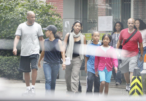 will smith family 2009. American entertainer Will