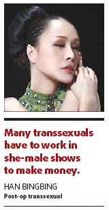 Red tape to test transsexuals' desire