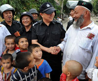 Peaceful and harmonious life resumes in Xinjiang
