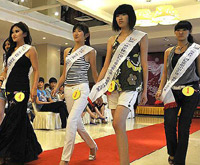 Beauty contest shakes off shadow of riot in Urumqi