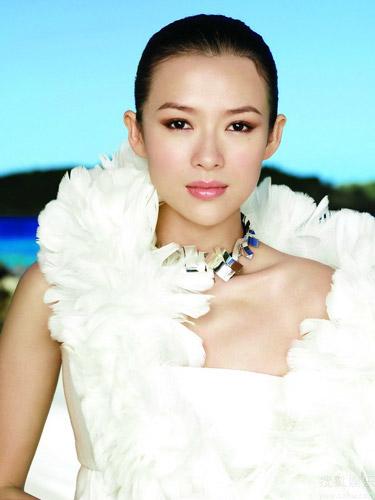 Chinese film star Zhang Ziyi[Sohu.com]