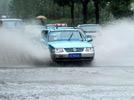 Heavy rain hit Shanghai