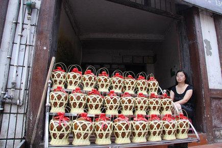 A wine shop in Maotai Town [CRI]