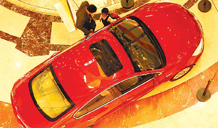 Auto sales get leg-up from inland regions