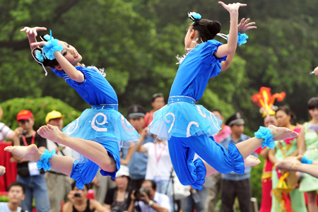 West Lake Int'l Carnival kicks off in Hanzhou -- china.org.cn