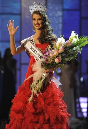 Venezuela Wins Miss Universe 2009 China Org Cn