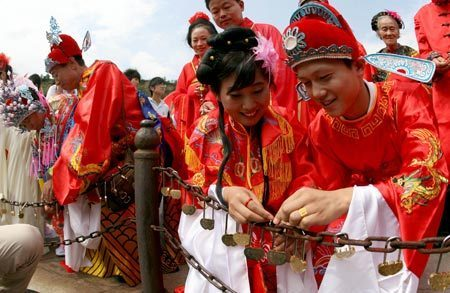 Love blossoms during Qixi Festival chinaorgcn
