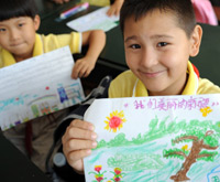 Schools start new semester in Xinjiang