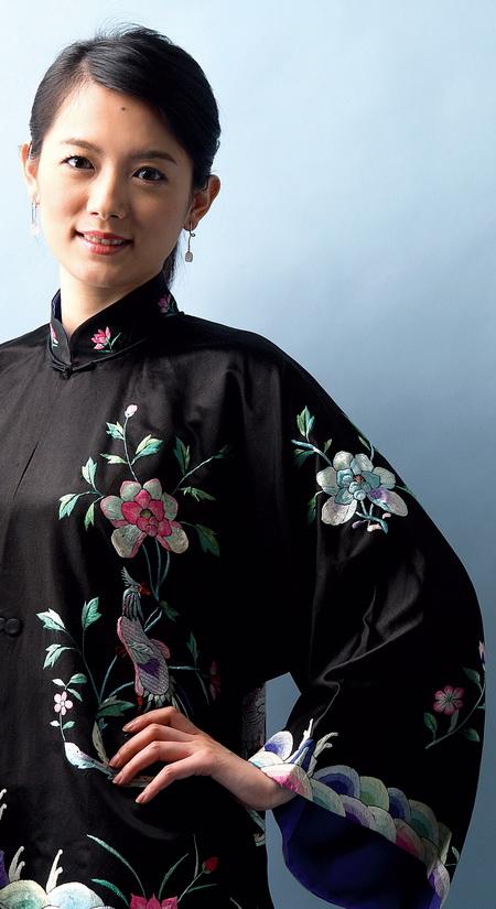Art administrator Wang Yihan