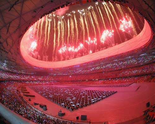 Opening ceremony at the 2008 Beijing Olympic Games.