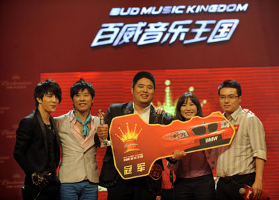 Xu Xiaoming (M) with judges