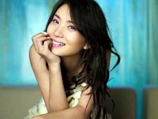 Pretty actress Chen Hao