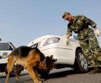Anti-explosive drill held in N China