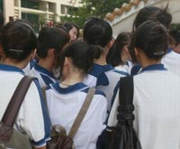 School expels students with long hair