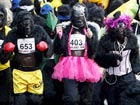 Hundreds go ape for charity