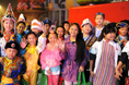 Performers prepare for National Day celebrations