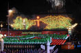 Spectacular fireworks at National Day evening gala