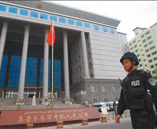 6 sentenced to death over Xinjiang riot