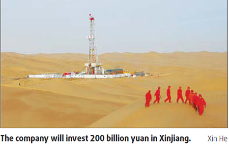 CNPC charts big investment plan