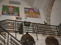Inside Ilana Goor Museum