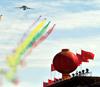 Aircrafts present air force show