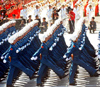 Air Force cadets take part in the parade