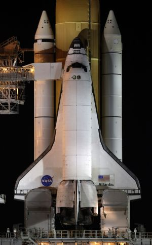 Space shuttle Atlantis ready for Monday launch - China.org.cn
