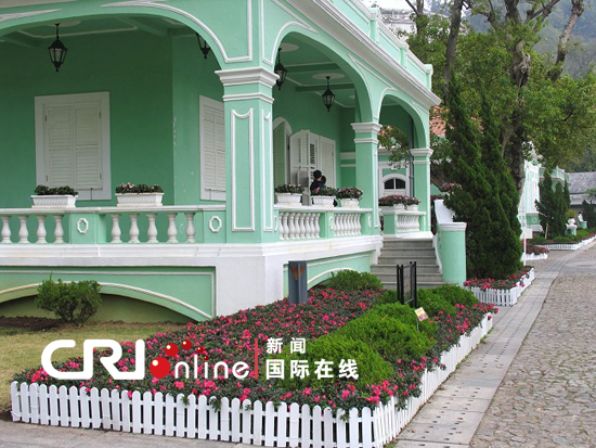 Southern European buildings in Macao