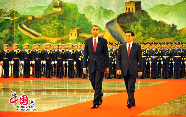 Obama vs. China: If you borrow from an eagle, you will always be looking up in the sky.