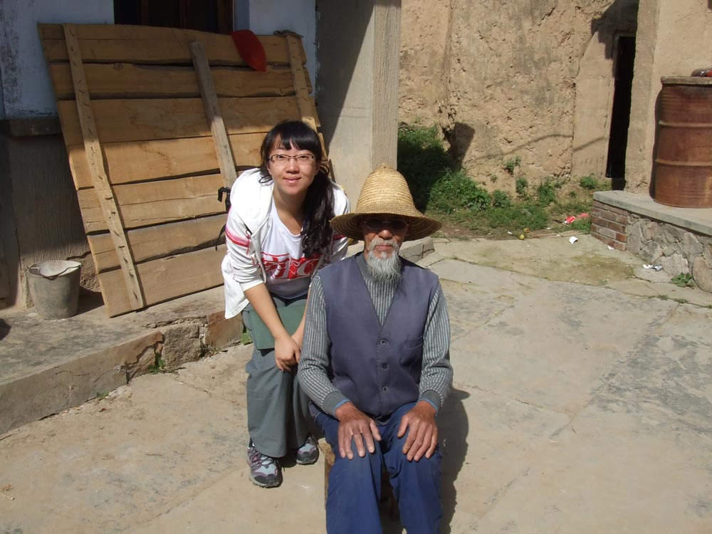 Xiao Xin in Gansu province, September 2009