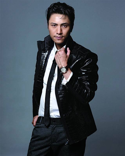 chen kun takes on gangster style china org cn