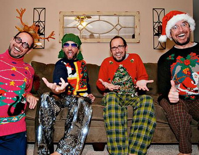 This Christmas is gonna be awesome, dudes! Photo: thedailygreen