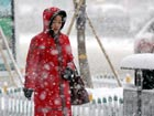 Cold wave sweeps through China
