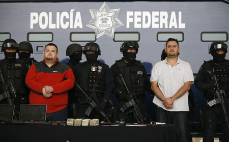 Alleged chief of violent Mexican cartel captured - China org cn