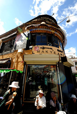 Special restaurants in Lhasa booming in slack tourist season