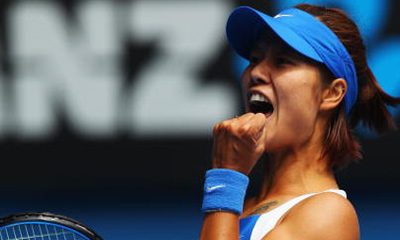 Li Na stormed into Australian Open semis