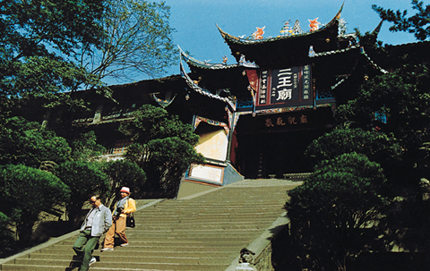Erwang Temple before the earthquake