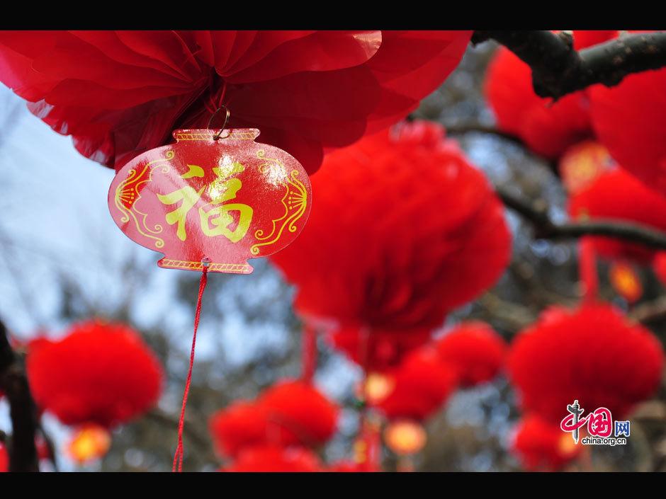 Beautiful red lanterns... Ditan