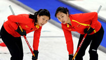Chinese women's curling team wins Canada