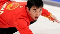 Chinese men's curling team beats U.S. 11-5