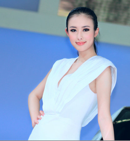 Chinese netizens as the 'top model at auto shows.' She's sex videos